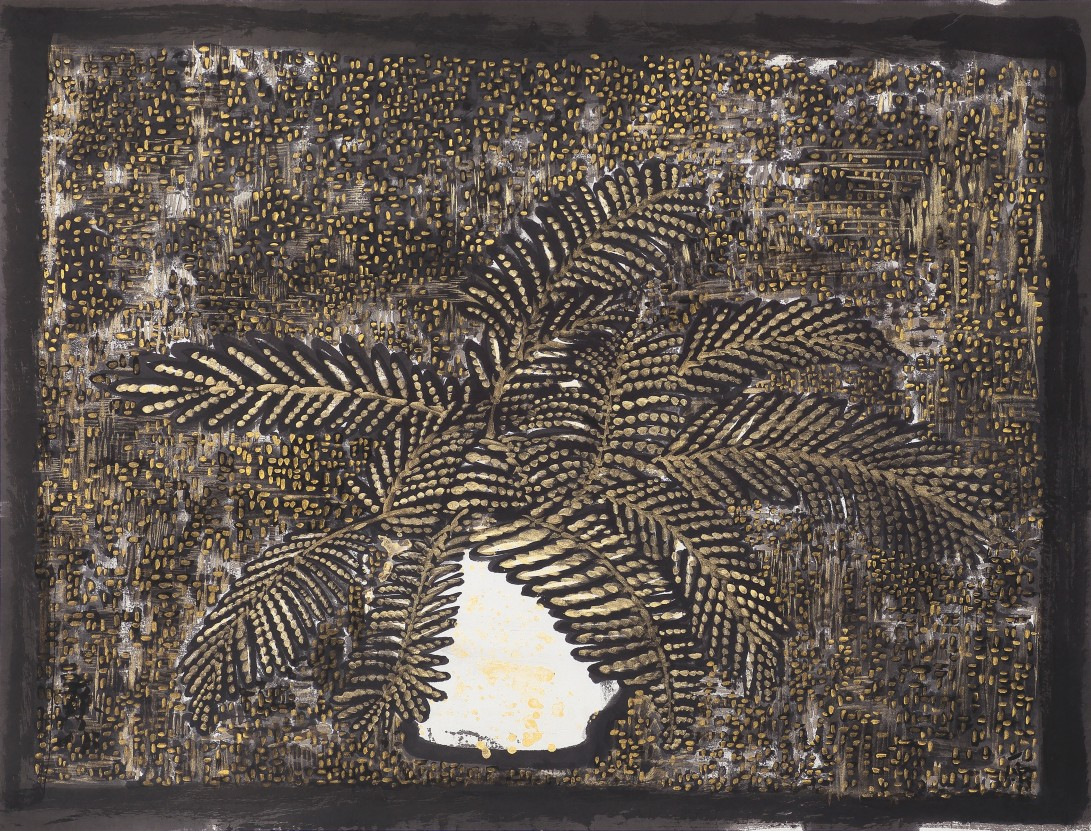 12濃密的錐形 2016 紙本水墨設色69x91cm