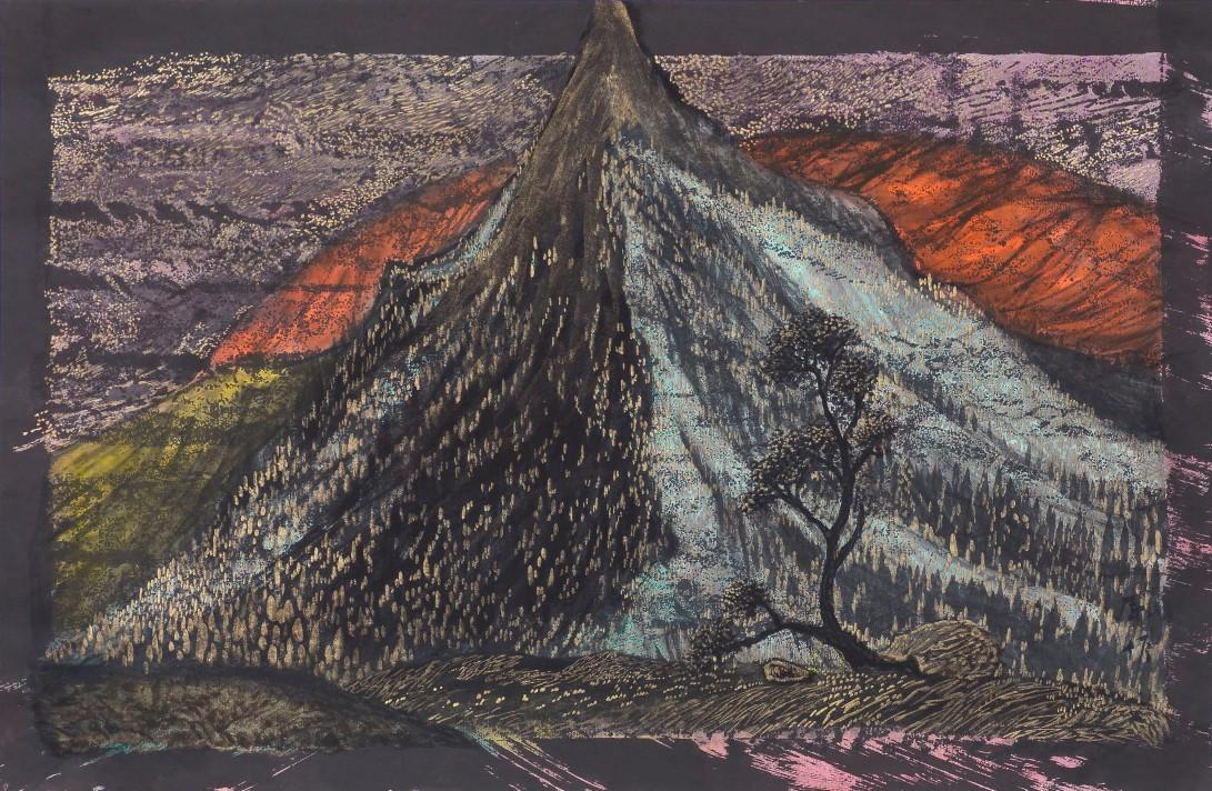 18朝聖的三十六景 2016 紙本水墨設色45x69.5cm
