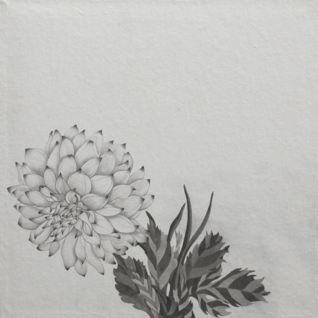 閑原 小草圖冊2- (16) 2012-2013紙本水墨畫 32x32cm