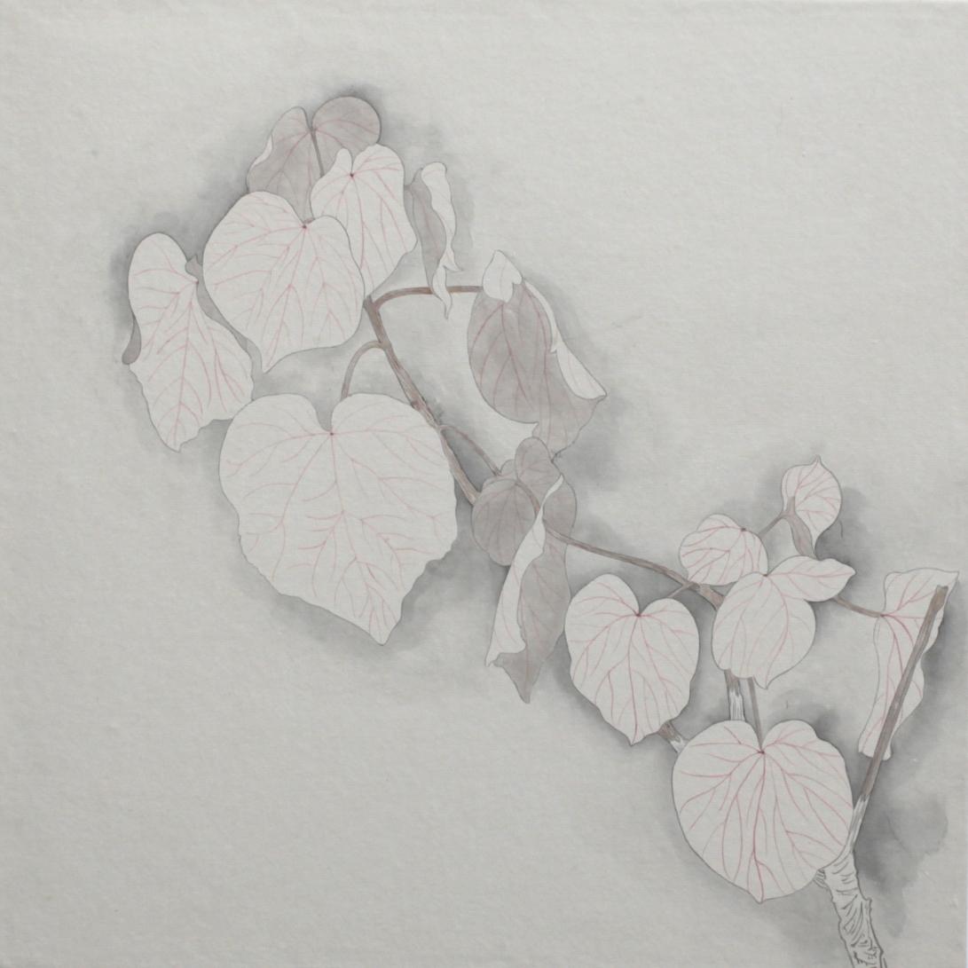 閑原 小草圖冊2- (17) 2012-2013紙本水墨畫 32x32cm