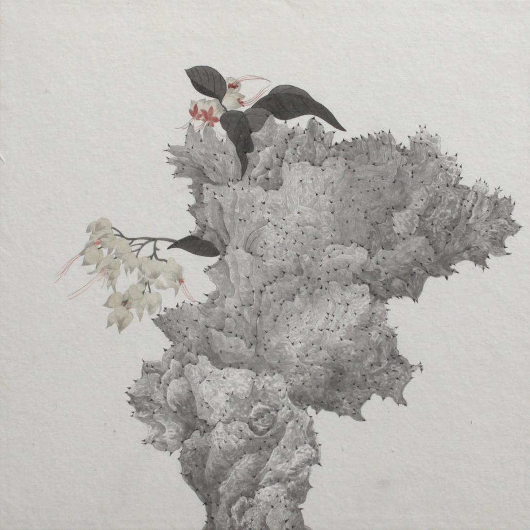 閑原 小草圖冊2- (18) 2012-2013紙本水墨畫 32x32cm