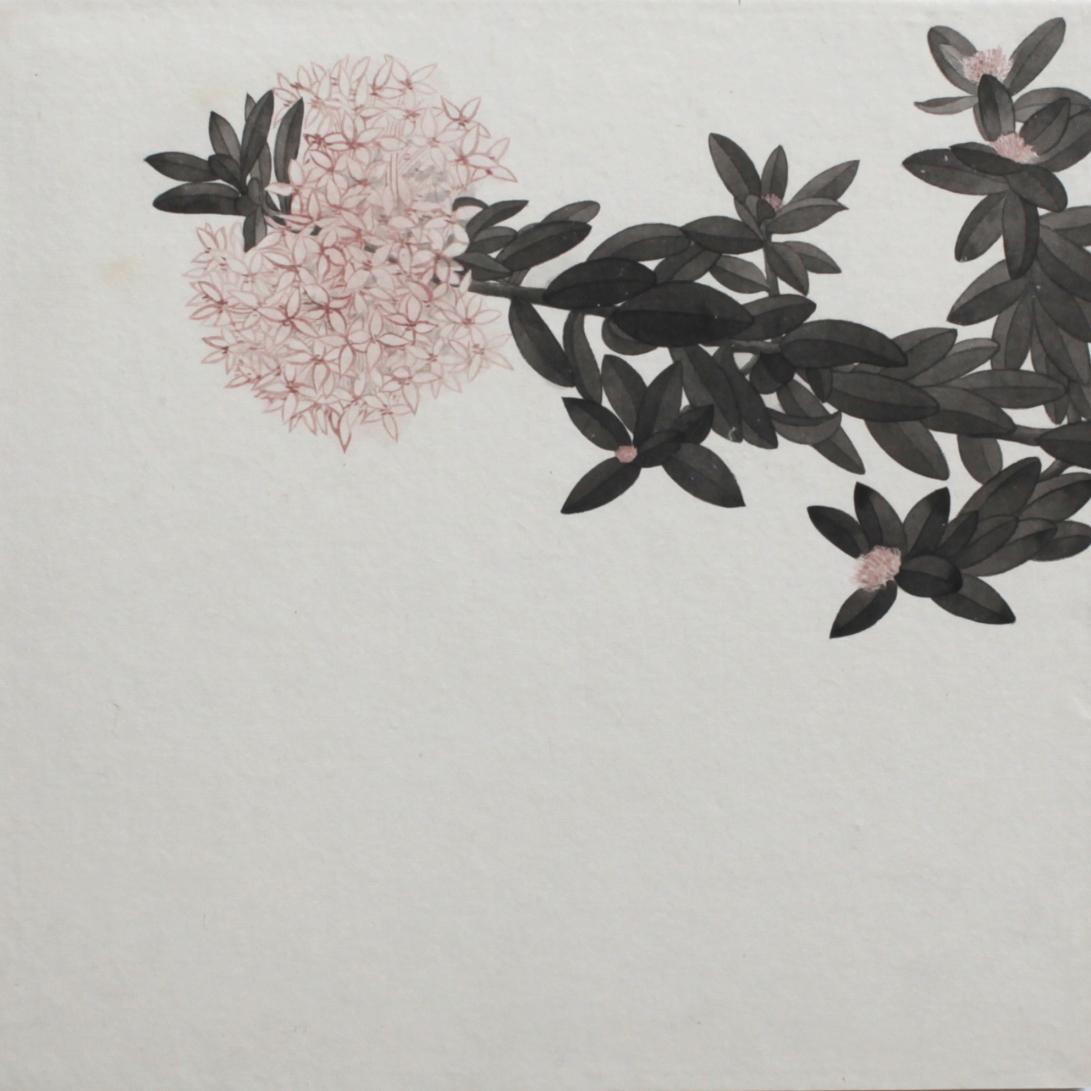 閑原 小草圖冊2- (19) 2012-2013紙本水墨畫 32x32cm