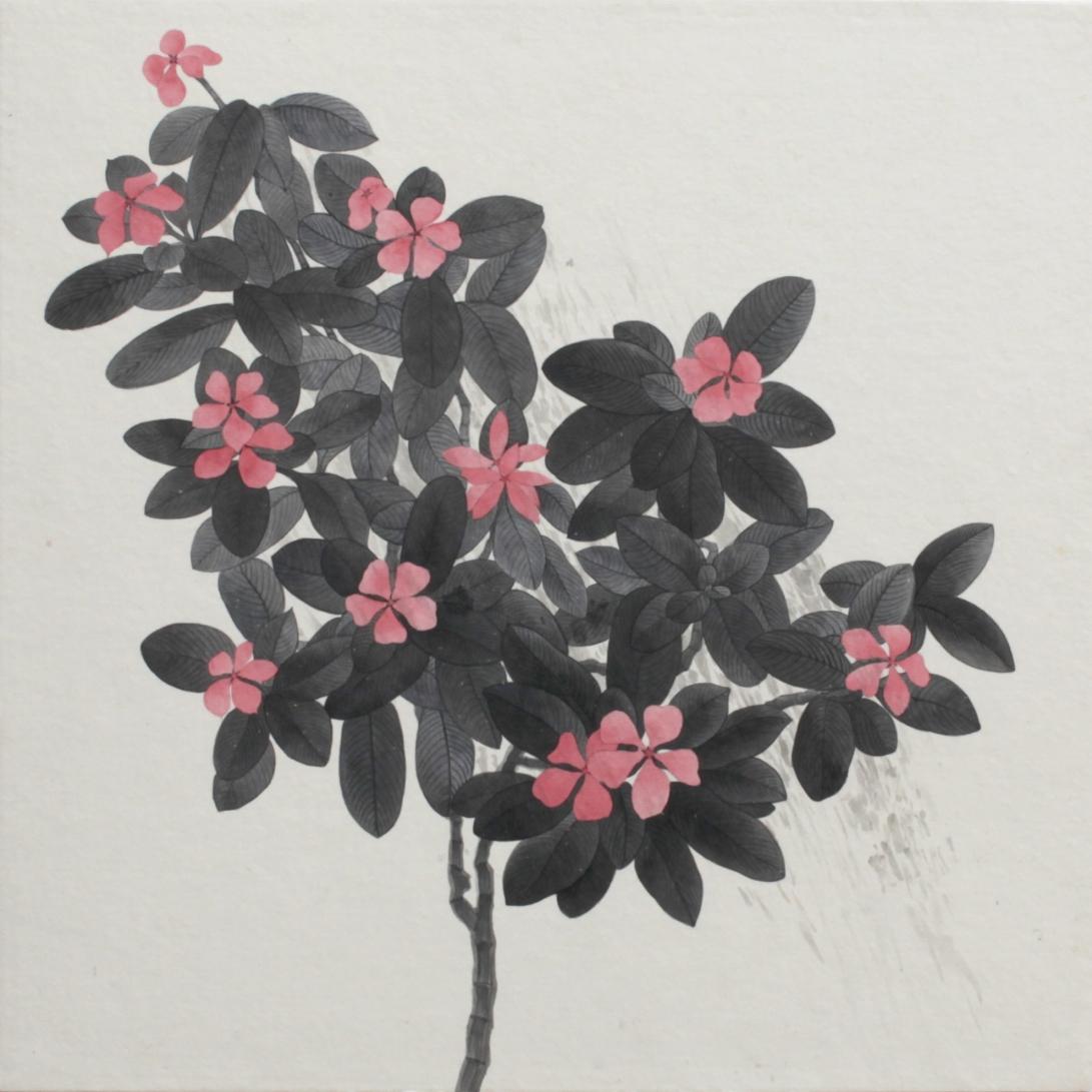 閑原 小草圖冊2- (25) 2012-2013紙本水墨畫 32x32cm