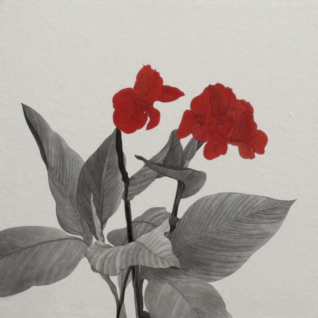 閑原 小草圖冊2- (30) 2012-2013紙本水墨畫 32x32cm
