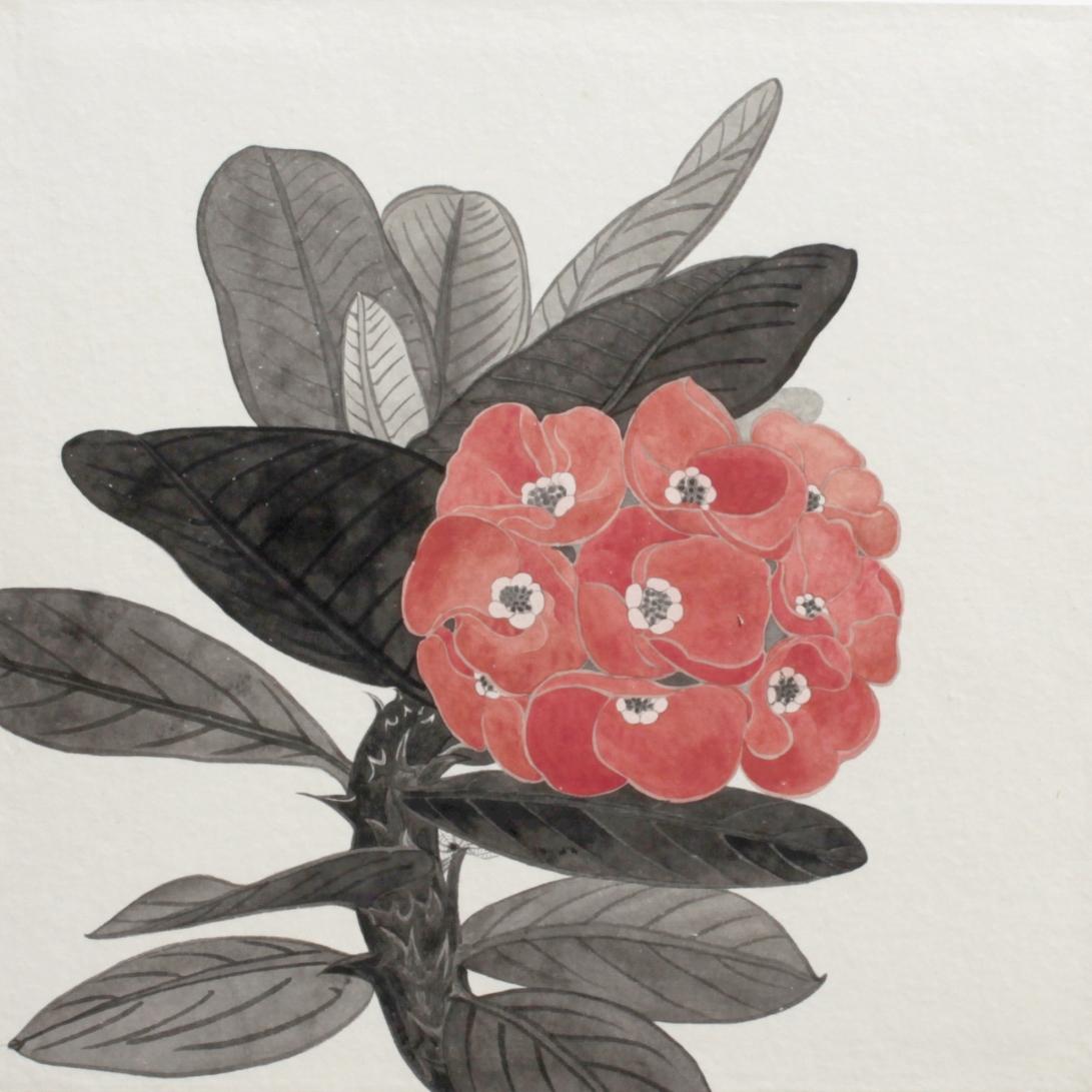 閑原 小草圖冊2- (31) 2012-2013紙本水墨畫 32x32cm