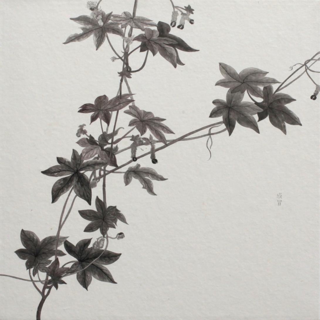 閑原 小草圖冊2- (36) 2012-2013紙本水墨畫 32x32cm