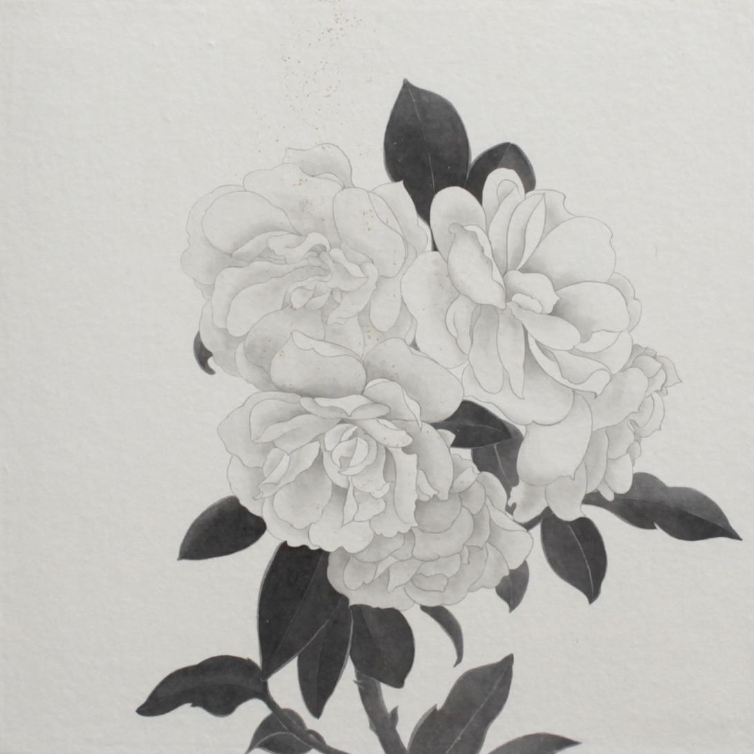 閑原 小草圖冊2- (37) 2012-2013紙本水墨畫 32x32cm