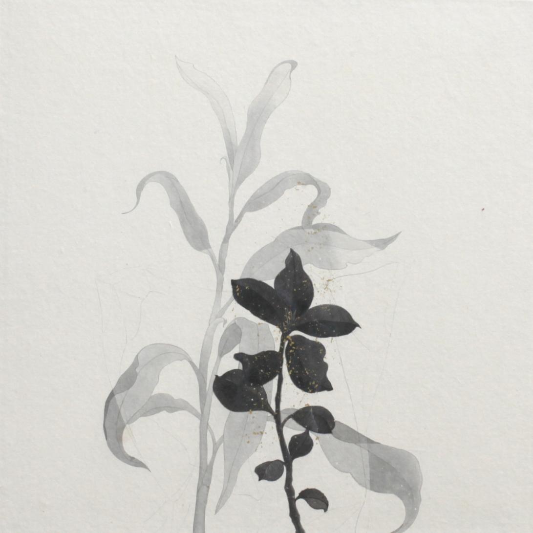 閑原 小草圖冊2- (39) 2012-2013紙本水墨畫 32x32cm
