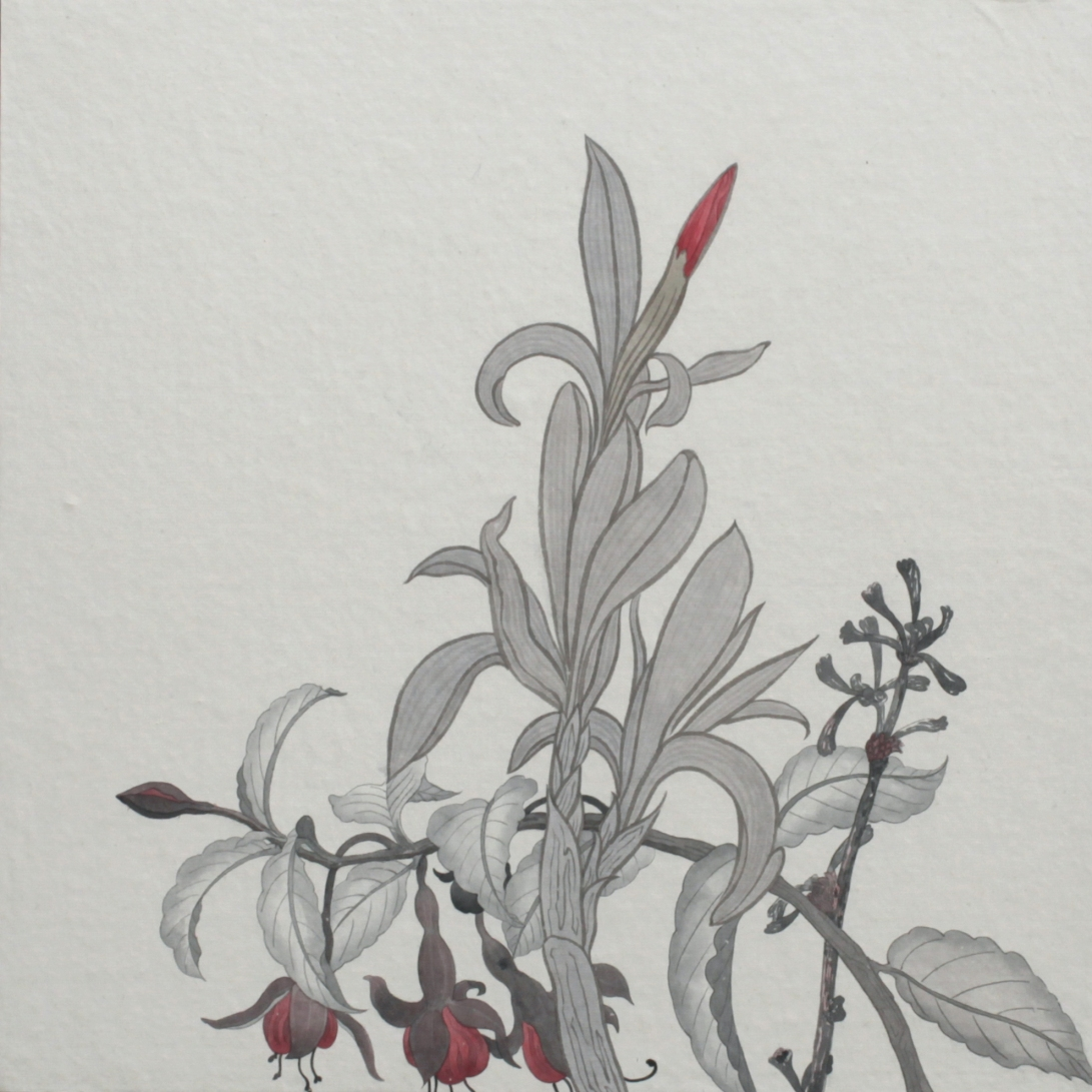 閑原 小草圖冊2- (41) 2012-2013紙本水墨畫 32x32cm