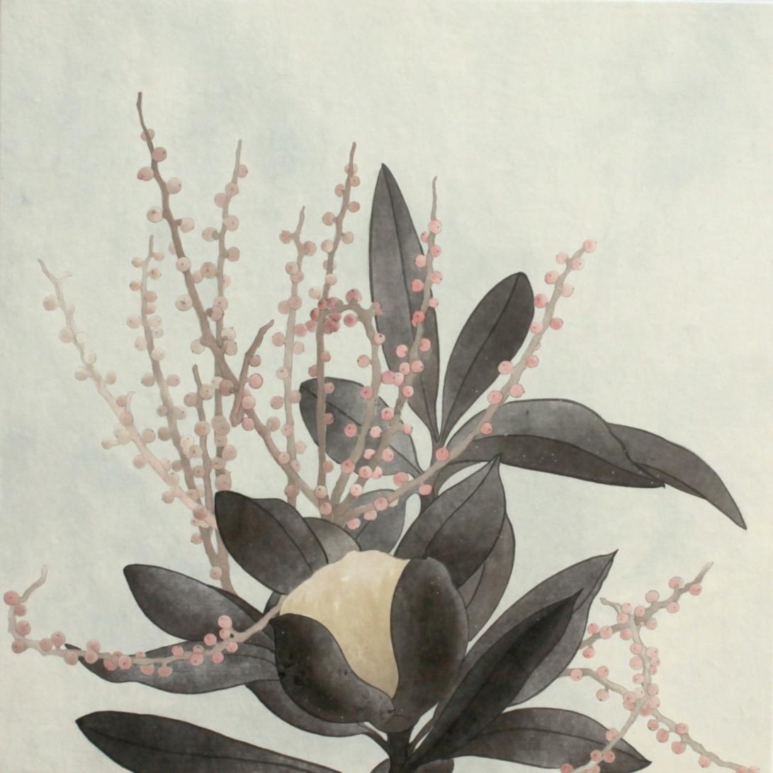 閑原 小草圖冊2- (46) 2012-2013紙本水墨畫 32x32cm