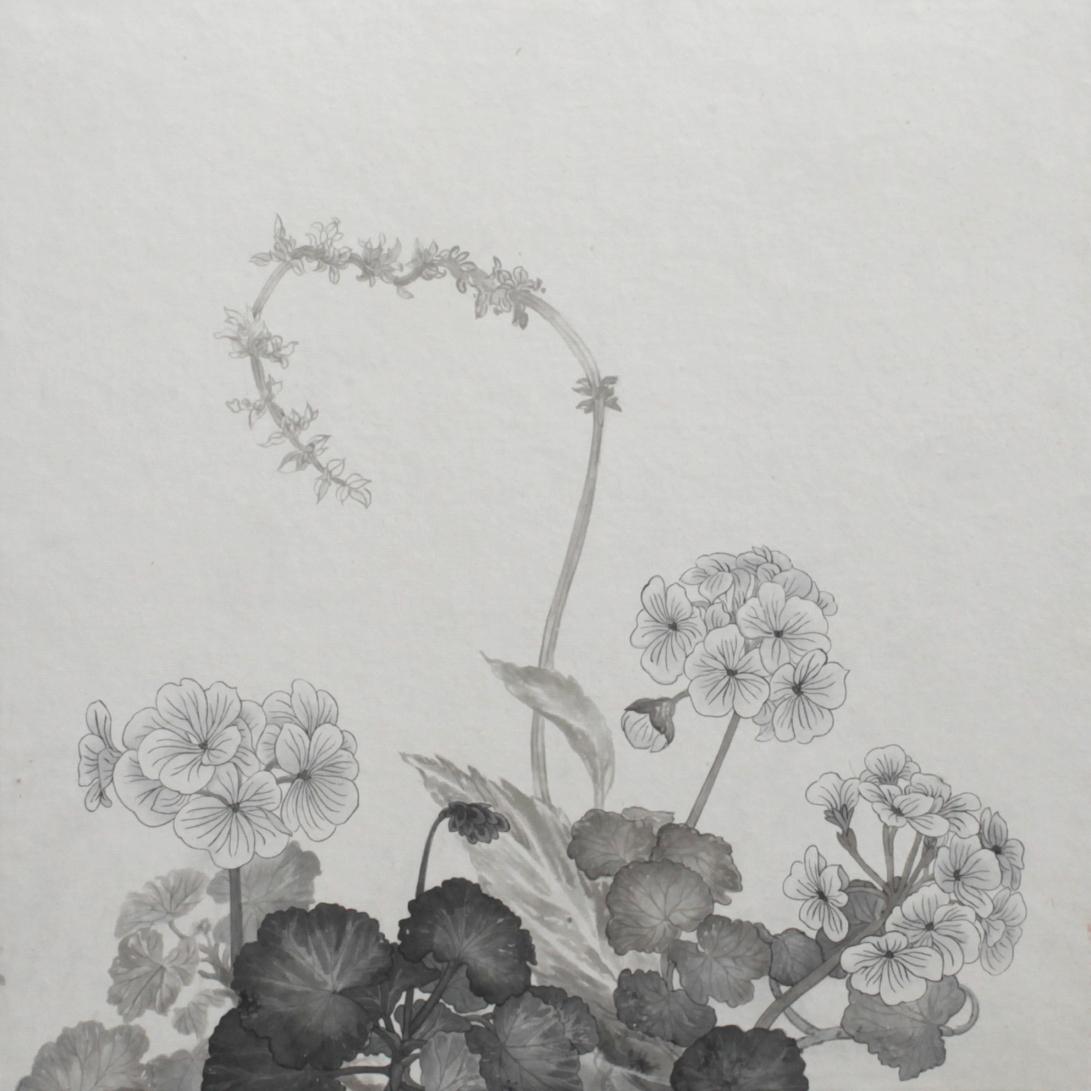 閑原 小草圖冊2- (5) 2012-2013紙本水墨畫 32x32cm